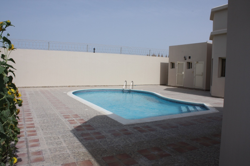 Semi Furnished 4 Bedroom Villa With Private Swimming Pool Available For Rent In Janabiya 7