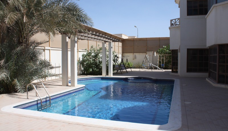 Semi Furnished 4 Bedroom Villa With Private Swimming Pool Is Available For Rent In Janabiya
