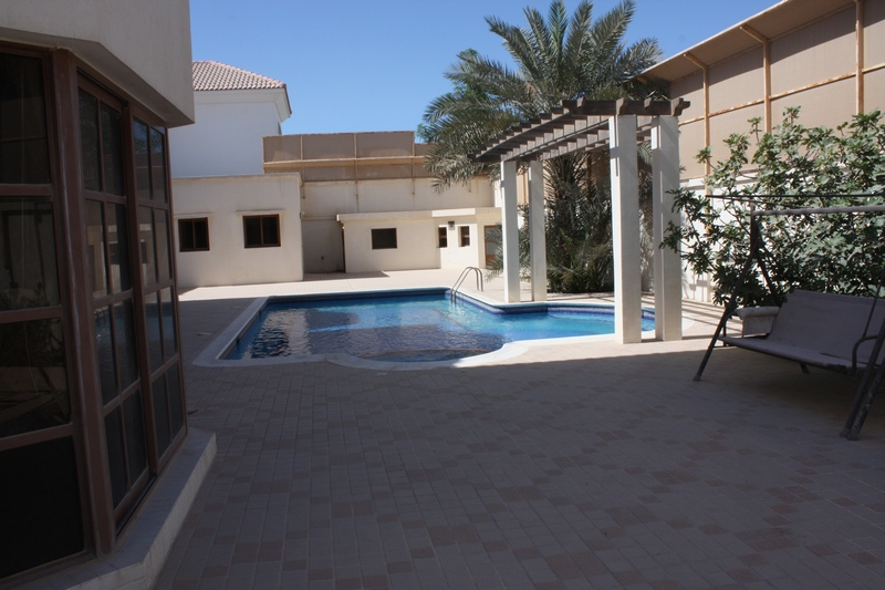 Semi Furnished 4 Bedroom Villa With Private Swimming Pool Is Available For Rent In Janabiya 27