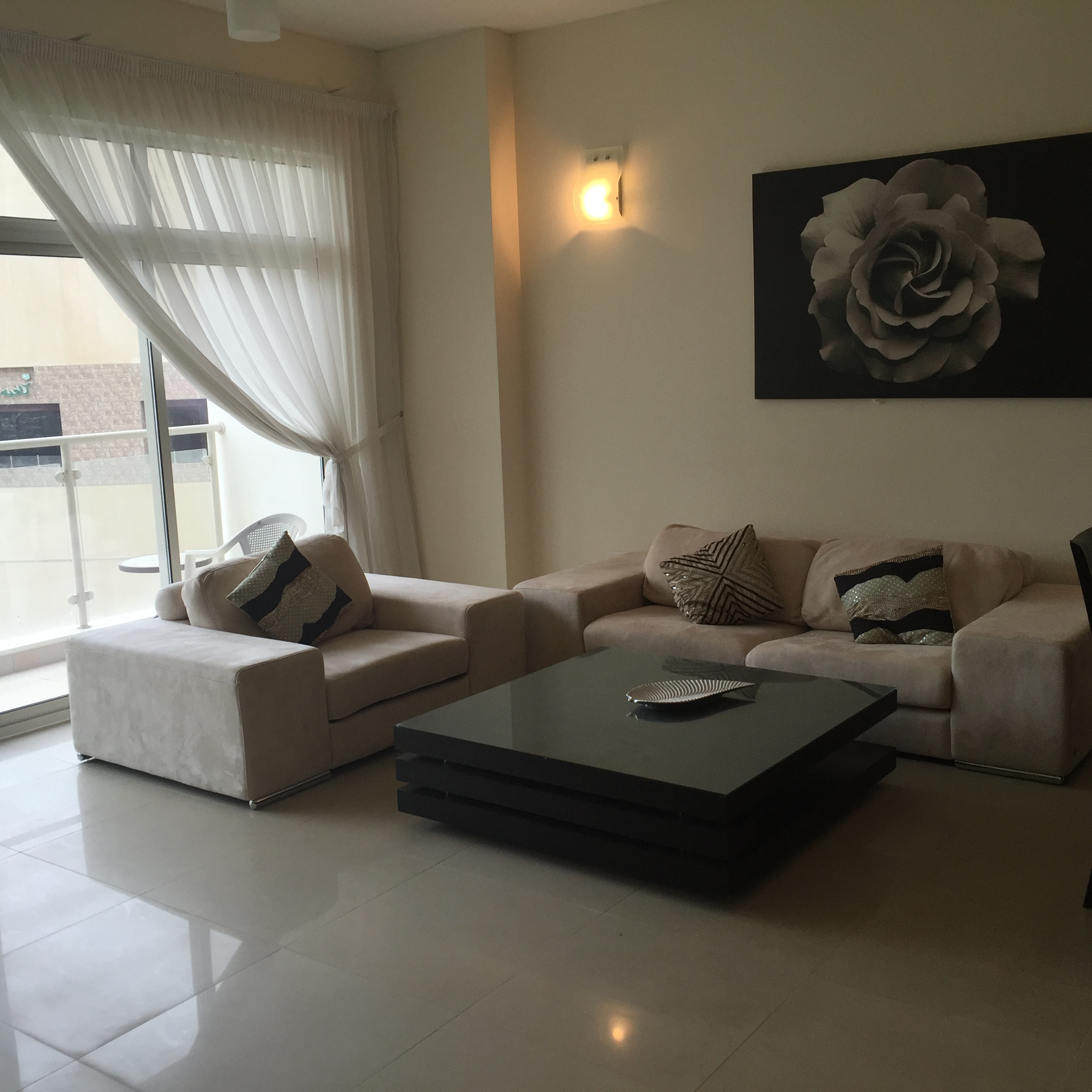 Apartmentrent: Modern Beautiful Fully Furnished 2 Bedroom Apartment- Rent Apartment Bahrain Hera Real Estate