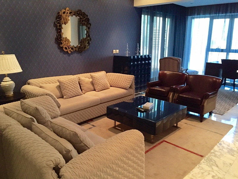 Amazing 1 BR apartment is available for rent in Reef Island-Apartment For Rent In Bahrain