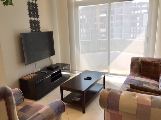 Stylish 1 BR fully furnished apartment is available for rent in Seef-Rent Apartment Bahrain