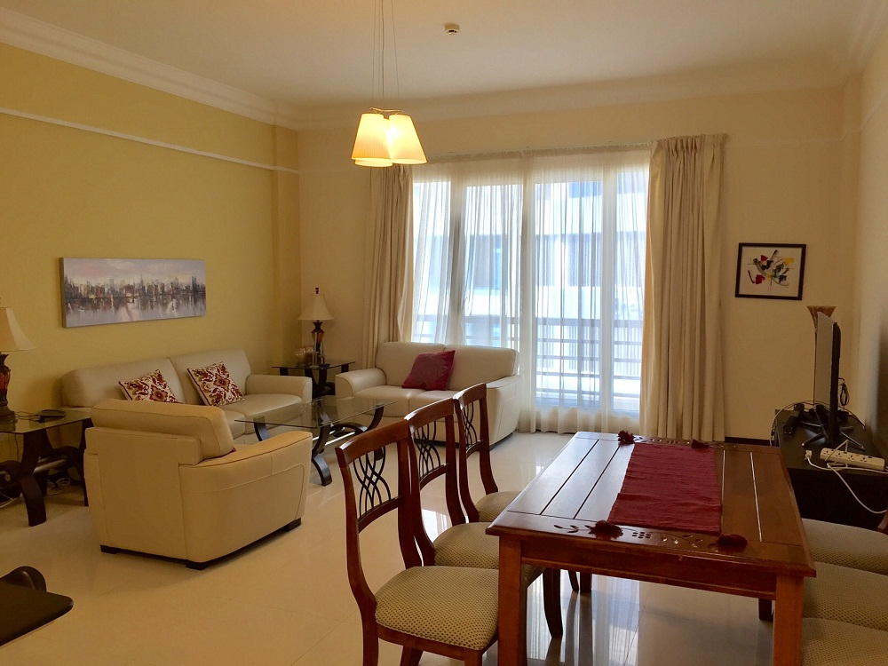 Spacious 2 BR fully furnished apartment is available for rent in Seef-Rent Apartment Bahrain